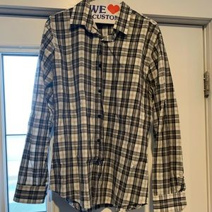 Mens express button up shirt